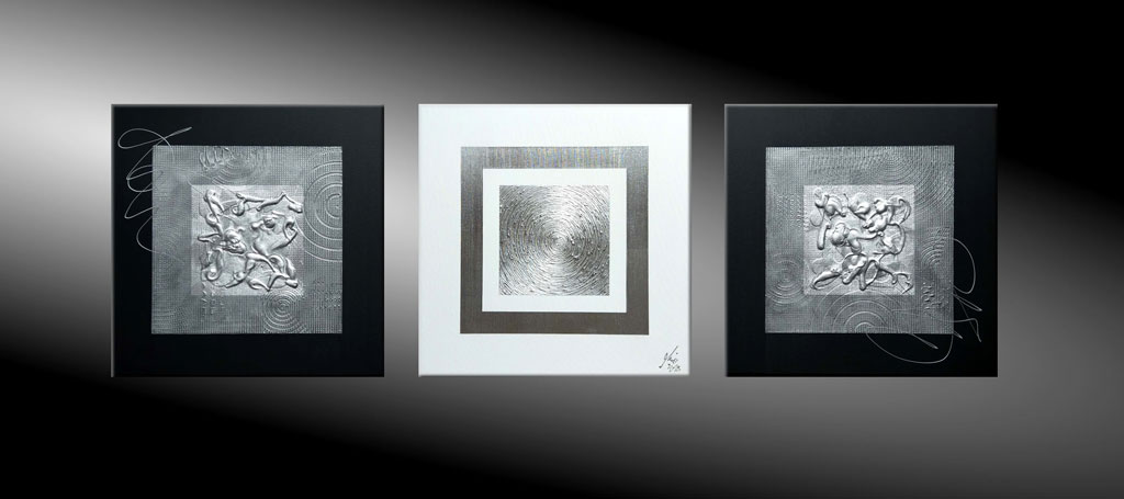 atelier mico schwarz wei acryl malerei. Black Bedroom Furniture Sets. Home Design Ideas