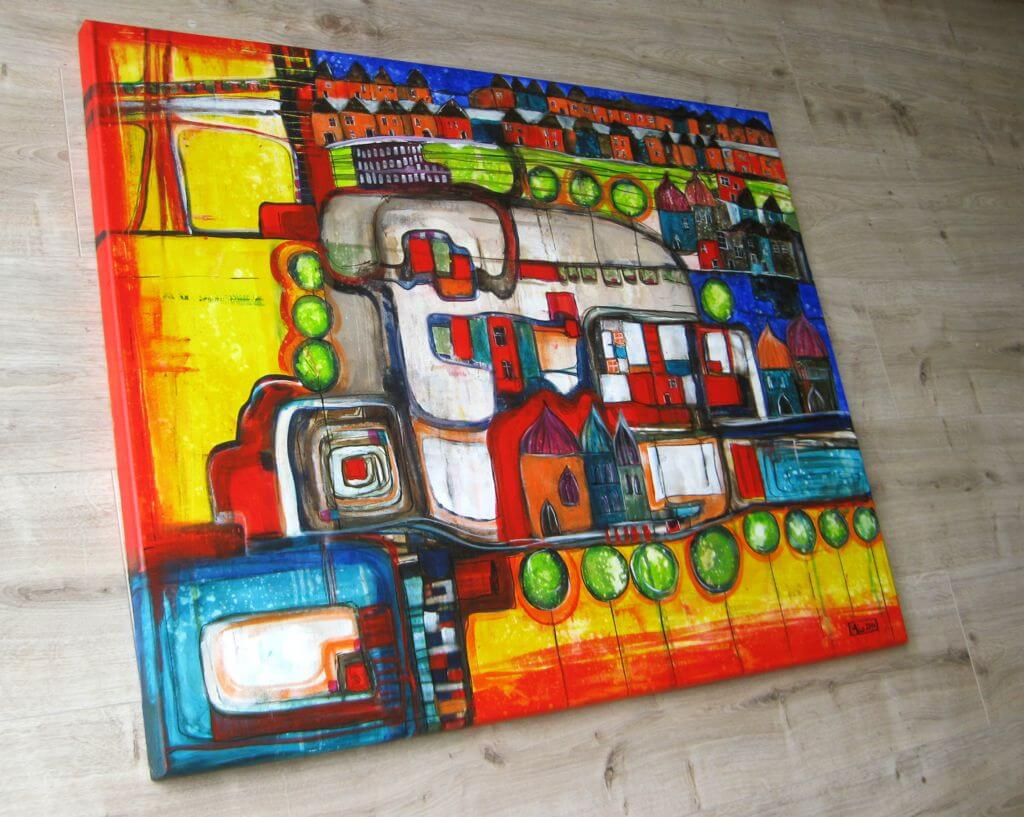 atelier mico hommage xiii acryl malerei. Black Bedroom Furniture Sets. Home Design Ideas